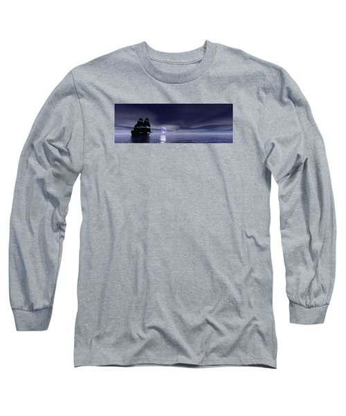 Sails Beneath The Moon Long Sleeve T-Shirt