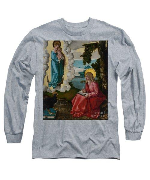 Saint John On Patmos Long Sleeve T-Shirt
