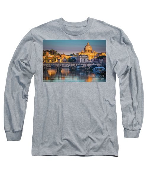 Saint Peters Basilica Long Sleeve T-Shirt