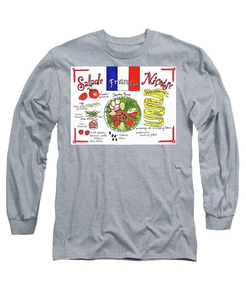 Salade Nicoise Long Sleeve T-Shirt