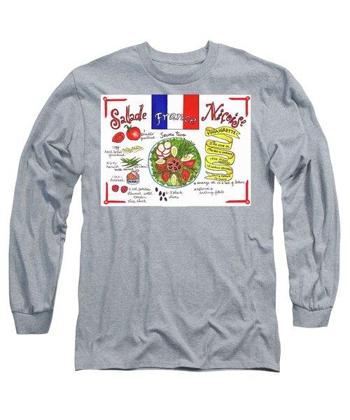 Salade Nicoise Long Sleeve T-Shirt