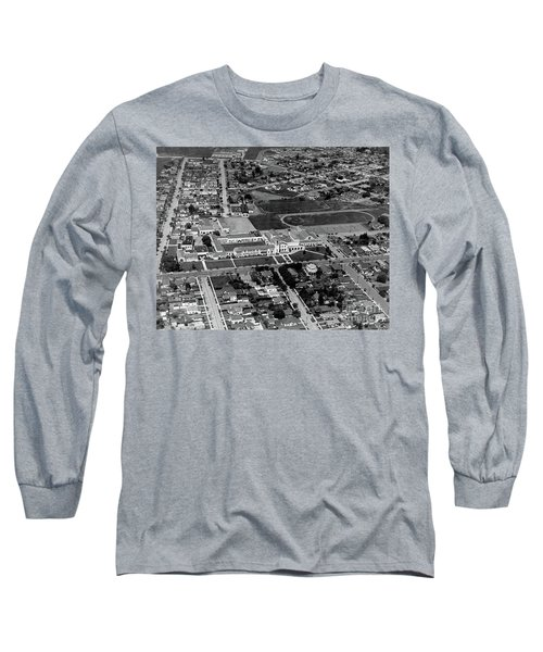 Salinas High School 726 S. Main Street, Salinas Circa 1950 Long Sleeve T-Shirt
