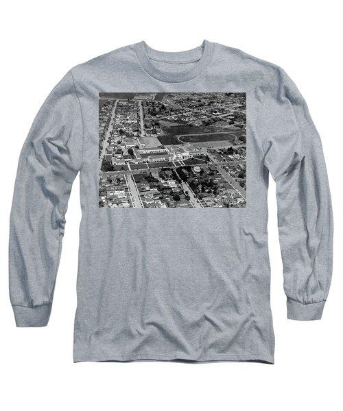 Salinas High School 726 S. Main Street, Salinas Circa 1950 Long Sleeve T-Shirt