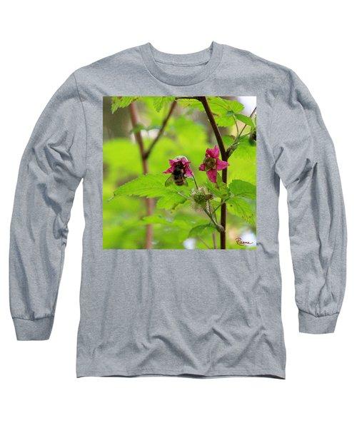 Salmonberry Honey Long Sleeve T-Shirt