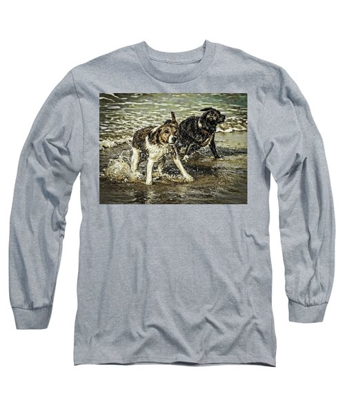 Long Sleeve T-Shirt featuring the photograph Salt And Shake by Nick Bywater