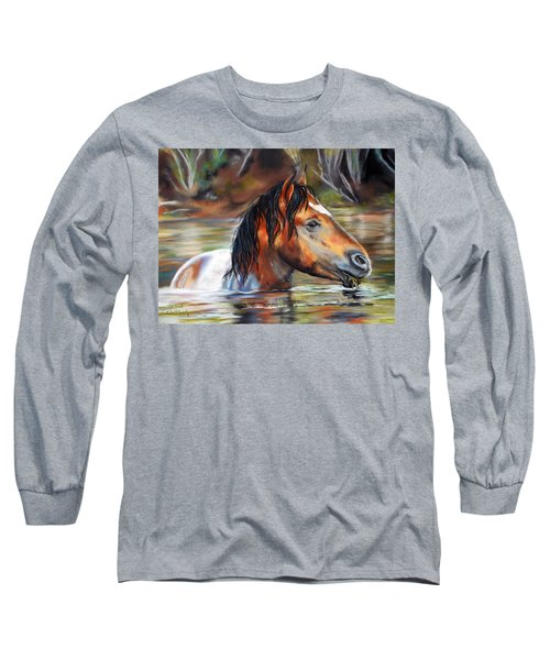 Salt River Tango Long Sleeve T-Shirt by Karen Kennedy Chatham