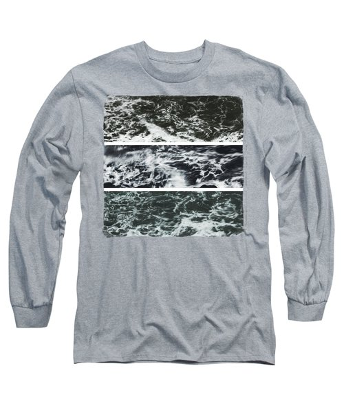 Saltwater Triptych Variation 3 Long Sleeve T-Shirt