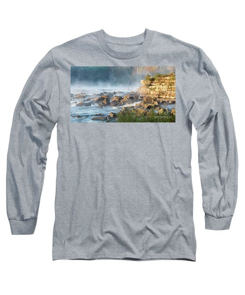 Saluda River At Daybreak Long Sleeve T-Shirt
