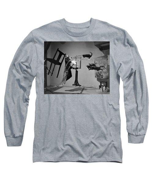 Salvador Dali 1904-1989 Long Sleeve T-Shirt by Granger