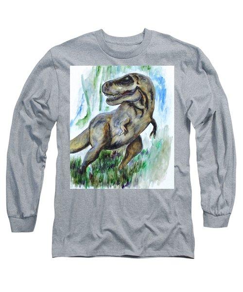 Salvatori Dinosaur Long Sleeve T-Shirt