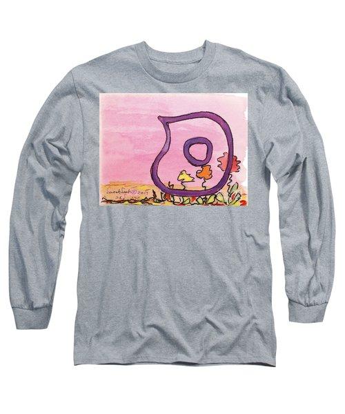 Samech And Flowers Long Sleeve T-Shirt