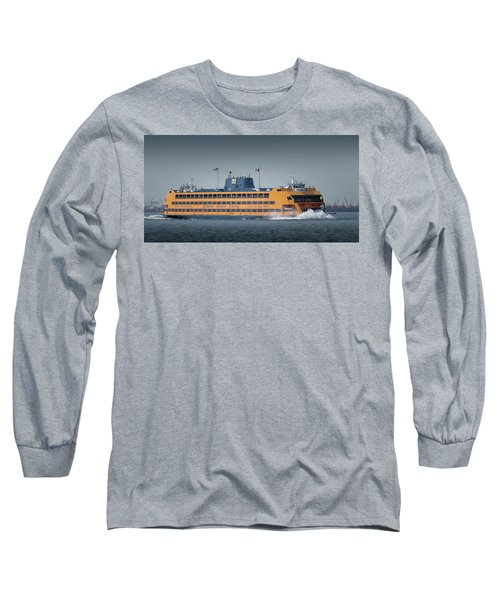 Samuel I. Newhouse Ferry Long Sleeve T-Shirt