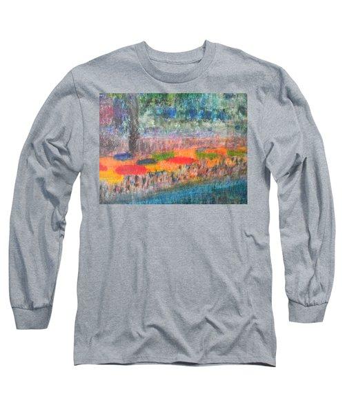 San Antonio By The River II Long Sleeve T-Shirt