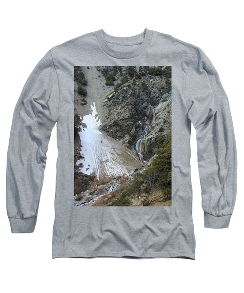 Long Sleeve T-Shirt featuring the photograph San Antonio Waterfalls by Viktor Savchenko