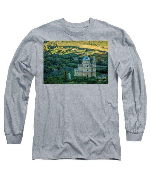 Long Sleeve T-Shirt featuring the photograph San Biagio Church by Brian Jannsen