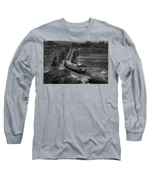 San Elijo Amtrak Long Sleeve T-Shirt
