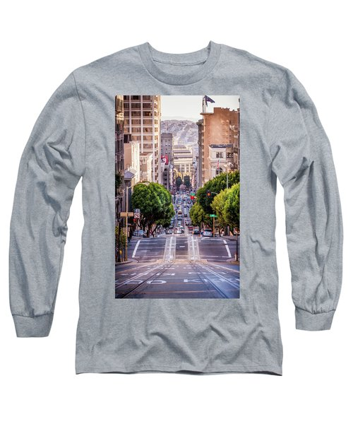 San Fran Cable Car Long Sleeve T-Shirt