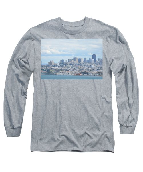 Long Sleeve T-Shirt featuring the photograph San Francisco by Alex King