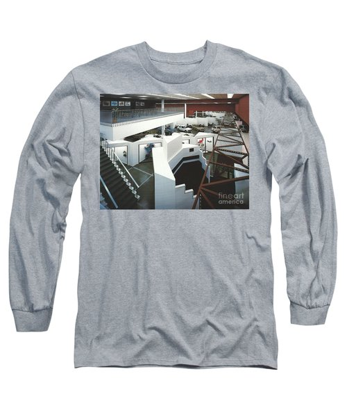 San Francisco Autocenter Long Sleeve T-Shirt by Andrew Drozdowicz