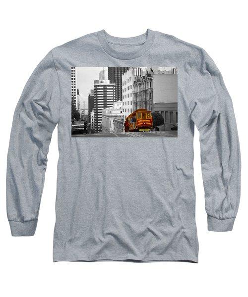 San Francisco Cable Car - Highlight Photo Long Sleeve T-Shirt