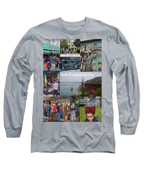 Long Sleeve T-Shirt featuring the photograph San Francisco Poster by Joan Reese