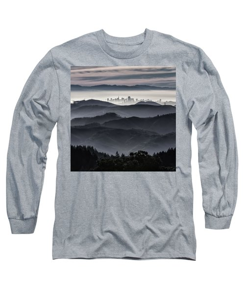 San Francisco Seen From Mt. Tamalpais Long Sleeve T-Shirt