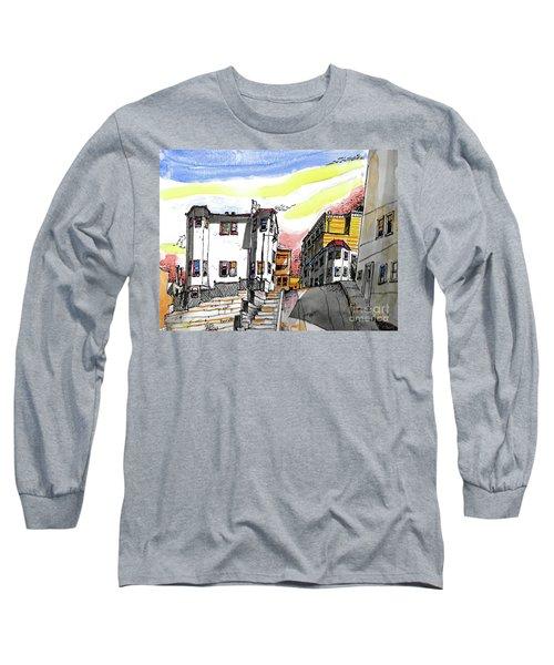 San Francisco Side Street Long Sleeve T-Shirt
