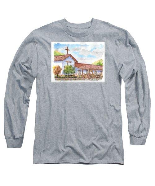San Francisco Solano Mission, Sonoma, California Long Sleeve T-Shirt