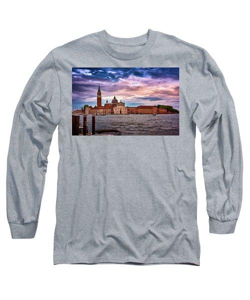 San Giorgio Di Maggiore Church In Venice, Italy Long Sleeve T-Shirt