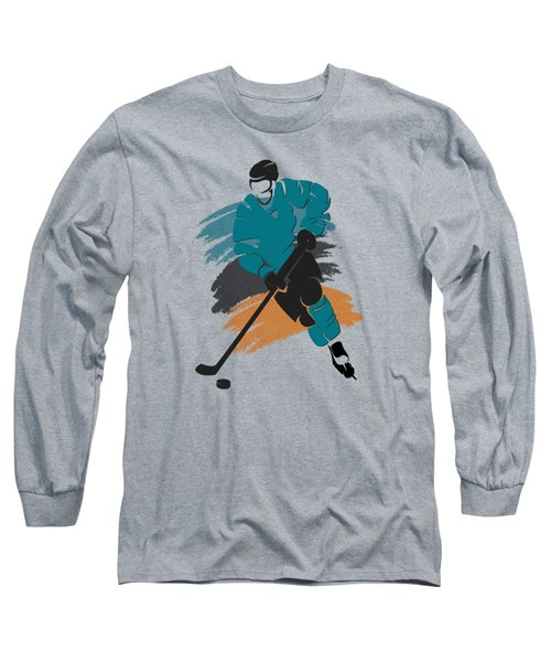 San Jose Sharks Player Shirt Long Sleeve T-Shirt