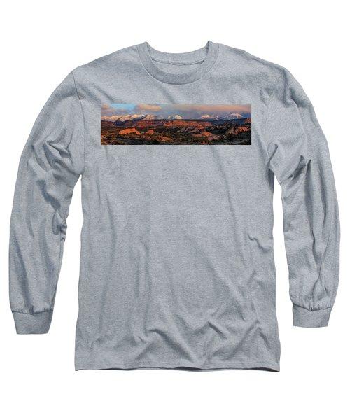Sand Flats Sunset Long Sleeve T-Shirt