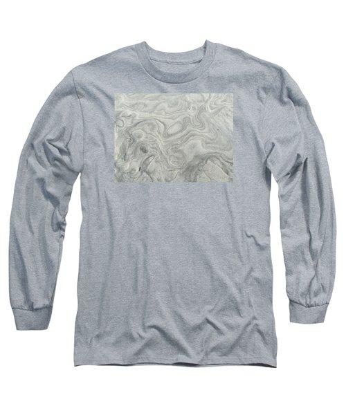 Sand Sculpture Long Sleeve T-Shirt by Christine Lathrop
