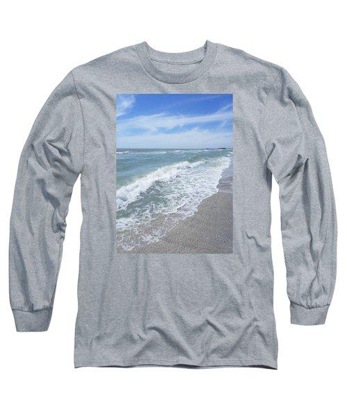 Sand, Sea, Sun, No.2 Long Sleeve T-Shirt