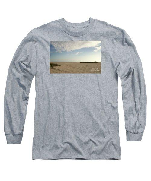 Sand Storm At St. Pete Beach Long Sleeve T-Shirt