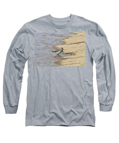 Sandpiper At The Shore Long Sleeve T-Shirt