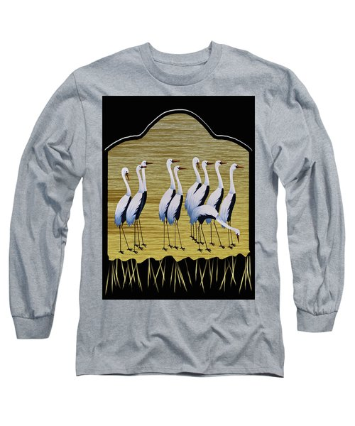 Sandpipers II Long Sleeve T-Shirt