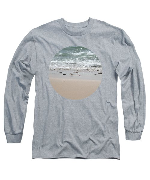 Sandpipers In Tideland Long Sleeve T-Shirt