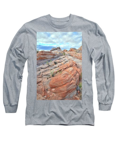 Sandstone Crest In Valley Of Fire Long Sleeve T-Shirt