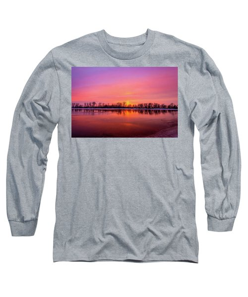 Sandy Chute Sunset Long Sleeve T-Shirt