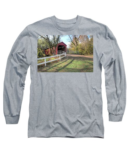 Sandy Creek Covered Bridge Long Sleeve T-Shirt