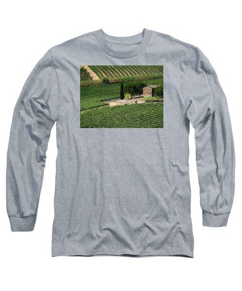 Sangiovese Vineyard Long Sleeve T-Shirt
