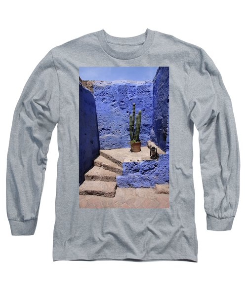 Long Sleeve T-Shirt featuring the photograph Santa Catalina Monastery by Aidan Moran