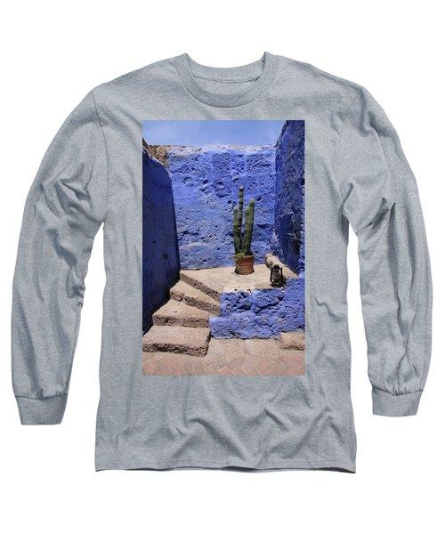 Santa Catalina Monastery Long Sleeve T-Shirt by Aidan Moran