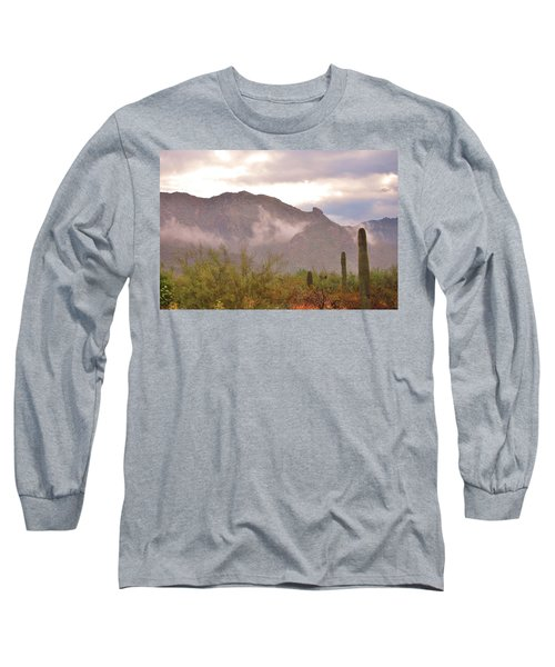 Santa Catalina Mountains II Long Sleeve T-Shirt