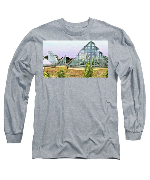 Saolariums At San Antonio Botanical Gardens Long Sleeve T-Shirt