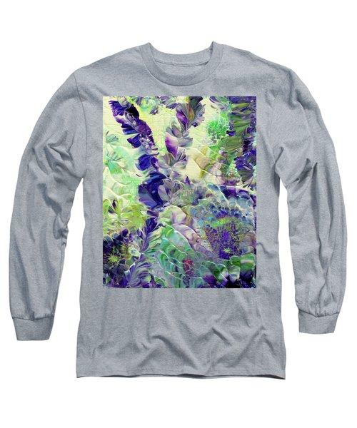 Sapphire Violet Long Sleeve T-Shirt