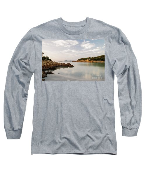Sardinian Coast I Long Sleeve T-Shirt by Yuri Santin