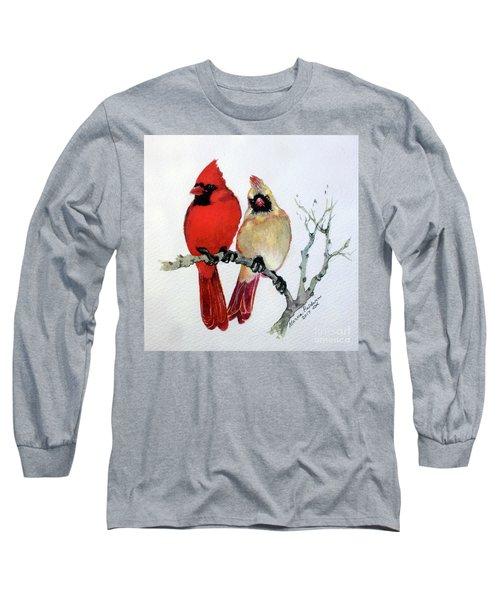 Sassy Pair Long Sleeve T-Shirt by Marcia Baldwin