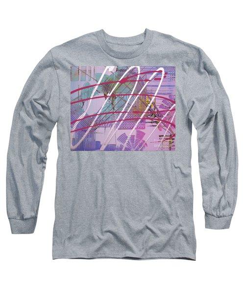 Satellites Long Sleeve T-Shirt