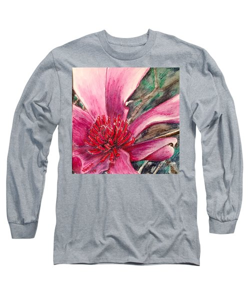 Saucy Magnolia Long Sleeve T-Shirt
